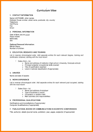 Resume 2017 Templates 100 cv format 100 south africa scienceresume 83
