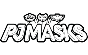 Pj Masks Colouring Pages Pdf Coloring Black And White Copy