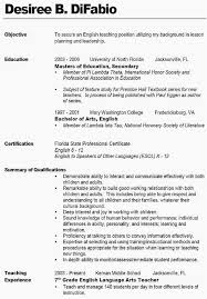 Sample Teacher Resume Like The Bold Name With Line School Counselor