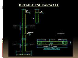 shear wall. 20 detail of shear wall shear wall o