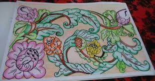 Agar gambar sketsa mawar bisa menjadi indah dan menarik, kita juga bisa membuat garis vertikal dengan agak melengkungkan seperti batang mawar pada umumnya. Gambar Batik Bunga Yang Mudah Di Gambar Harian Nusantara