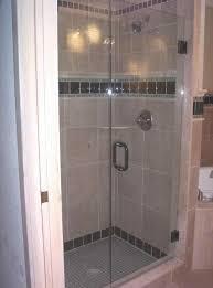 Shower ~ Custom Shower Doors Frameless Door Handles Exquisite Arc ...