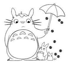 Small Picture Totoro coloring pages to download and print for free DESENHOS E