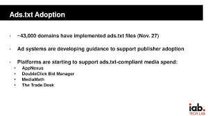 14 ads txt adoption