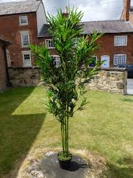 office tree. Artificial Plants - 5ft 6ft Bamboo Tree Indoor Office House Plant E