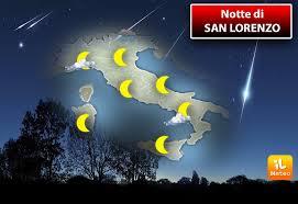 Αποτέλεσμα εικόνας για San Lorenzo: perché il 10 agosto è la notte delle stelle cadenti?