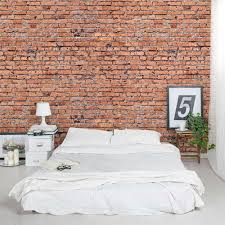 Red brick furniture Urbanfarm Co Pinterest Red Brick Wall Mural Brick Wall Mural Decal Wallums