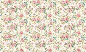 Flower Pattern Wallpaper Simple Vintage Flowers Wallpapers Wallpaper Cave