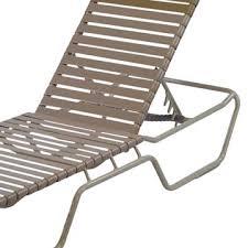 commercial vinyl strap chaise lounges