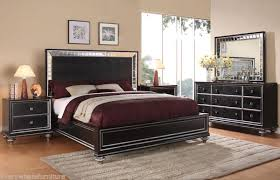 bedroom furniture black glass photo 4