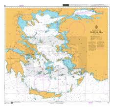 Admiralty Chart 180 Aegean Sea Todd Navigation