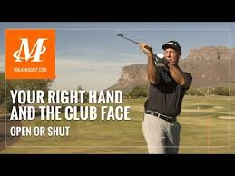 Malaska <b>Golf</b> // Your <b>Right Hand</b> & Controlling the Club Face - No ...