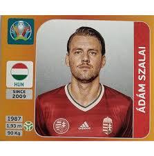 Ádám szalai news and features. Panini Euro 2020 Sticker Nr 645 Adam Szalai