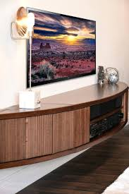 amazing wall mounted entertainment unit for floating tv stand mid century modern entertainment center arc mocha 85 wall hung entertainment unit nz