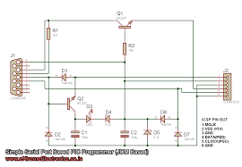 making a simple pic programmer simple serial port based pic programmer