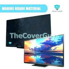 best outdoor tv covers 55 black waterproof television cover for inch flat screen astonishing custom wraps
