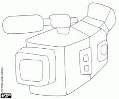 Small Picture Filming coloring pages printable games