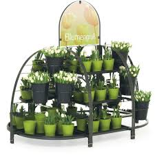 Flower Display Stands Wholesale Flower Island The Green Oasis For Your Sales Wanzl 28