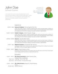 Latex Resume Templates Free Resume Example And Writing Download