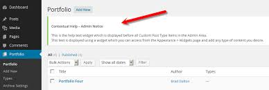 How To Add A Help Text Widget For WP Admin Notices