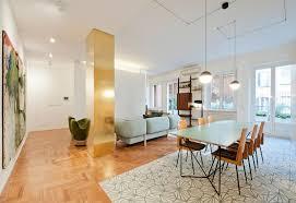 Progettazione Di Interni Milano : Arredamento vintage e mobili su misura per una casa moderna a