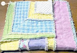 DIY Flannel Baby Rag Quilt - One Good Thing by Jillee & Baby Rag Quilt Adamdwight.com