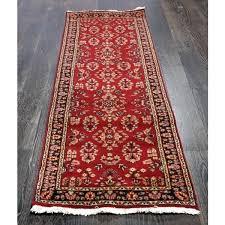 red runner rug red and white striped runner rug