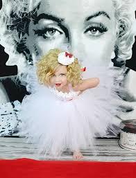 marilyn monroe flower girl tutu dresswhite flower girl by glittermebaby on 55 00