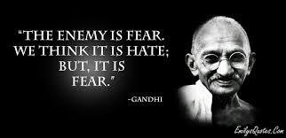 Famous Quotes Fear