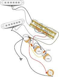 two band ptb tone control useful easy cheap awesome on fuzz and distortion which was what drew me to that for my attempt at a jaguar strat fusion i drew a schematic up in visio if anyone wants it