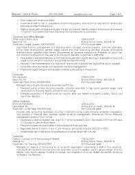 Federal Nurse Sample Resume New Resume Sample For Job Application Pdf Download Templates Security