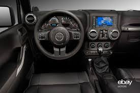 new interior of the jeep wrangler unlimited with 2 8l crd engine