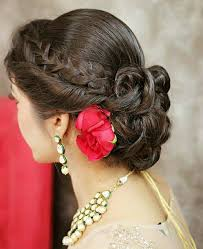 most beautiful indian bridal hairstyles