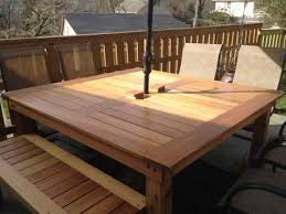 diy patio table wood patio furniture