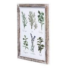 spices wall art decor botanical print