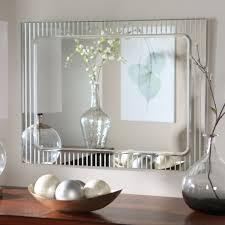 Bevelled Bathroom Mirror Big Wall Mirrors Regency Large 32 X 26inch Mahogany Wall Mirror