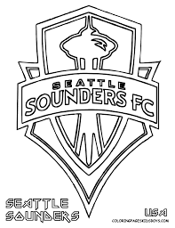 Start Coloring Fun With Mls Soccer