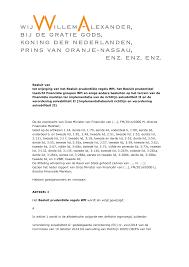 Besluit van tot wijziging van het Besluit pru toezicht financiële groepen  Wft financiële markten ter implemen verordening solv