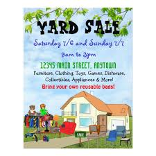 Community Garage Sale Flyer Template Ohye Mcpgroup Co