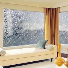 45*500 cm Opaque colorful pebbles Frosted decorative Window Films ...