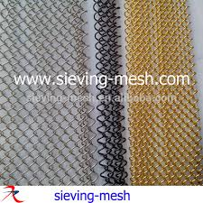 china stainless steel spark screens ss chain link mesh curtains ss fireplace mesh screen