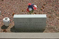 David Boyd Abrams (1894-1967) - Find A Grave Memorial