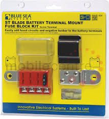 fuse holders and distribution boxes led lights marker truck led blue sea st 5024 battery terminal mount four way fuse distribution block holder box kit