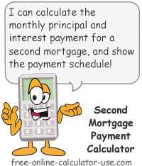 Remodeling Loan Calculator Second Mortgage Payment Calculator With Amortization Schedule