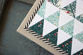 Weekend Quilting - nanaCompany & So, I cut into my yardage of Little Town fabrics :) I'm in love with the  modern simplicity of Jemima's