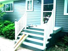 prefabricated wood steps prefab outdoor staircase home depot deck stairs spiral b calgary