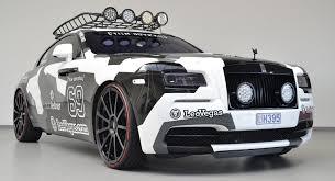 Jon Olssons Custom Rolls Royce Wraith Battle Car Is A Very