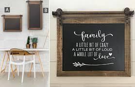 Chalkboard Sign, Hanging Chalkboard, Kitchen, Boutique, Cafe, Office, Wood,