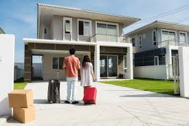 New House Download Couple Moving To New House Photo Premium Download