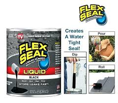 rubber flex seal in a can sealant spray liquid on rubber flex seal plumbing drainage